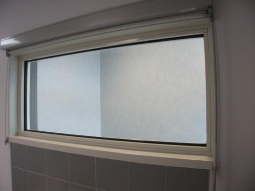 Grenoble Alpes University Hospital - France - Fixed glazed window with 12 mm lead.