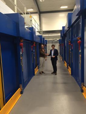 UK Atomic Energy Agency - Culham - UK - 10 motorised bunker doors.